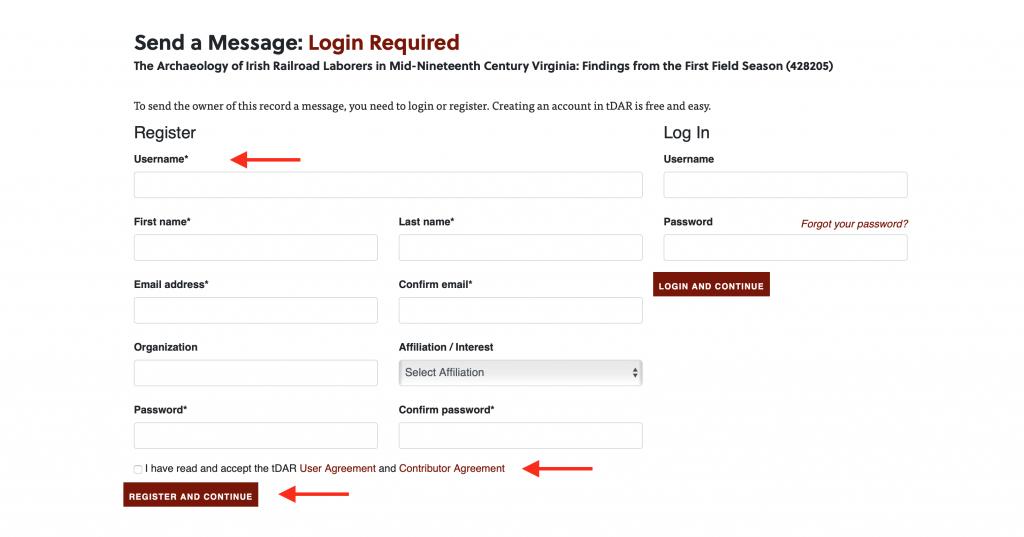 SHA Log In or Register